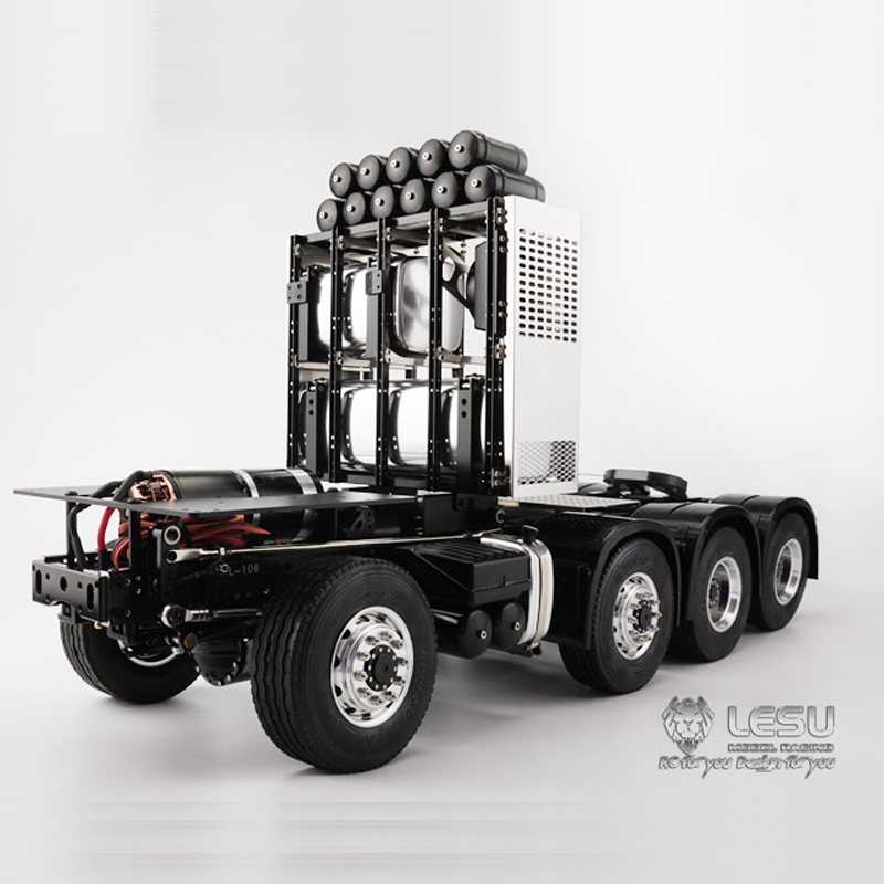1/14 Truck Scania R470 R620 8X8 Heavy Duty Trailer Frame Model LS-20130010 LESU
