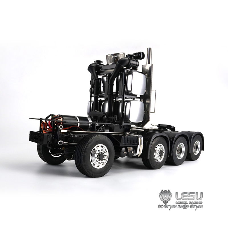 1/14 Truck MAN TGX 8X8 Heavy Duty Trailer Frame Model LS-20130017 LESU
