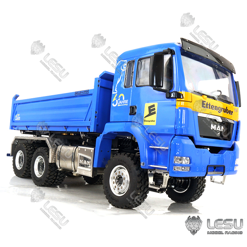 1/14 MAN TGS 6X6 hydraulic three-direction dump truck